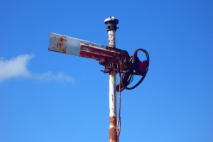 Signal near Orange
