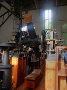 The transit telescope in Besançon